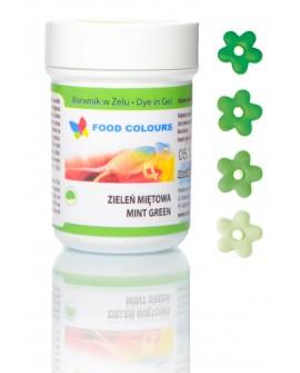 Barwnik w żelu Food Colours ZIELONY MIĘTOWY