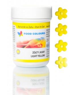 Barwnik w żelu Food Colours ŻÓŁTY JASNY