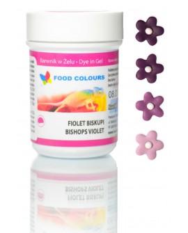 Barwnik w żelu Food Colours FIOLETOWY BISKUPI