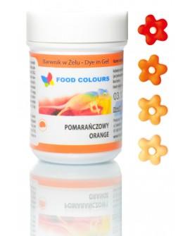 Barwnik w żelu Food Colours POMARAŃCZOWY