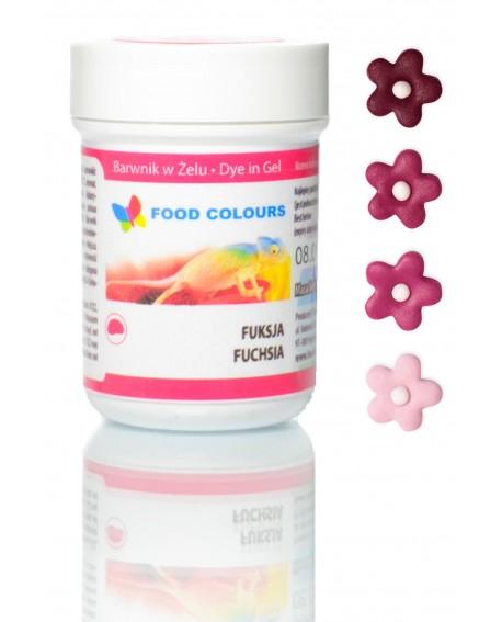 Barwnik w żelu Food Colours FUKSJA