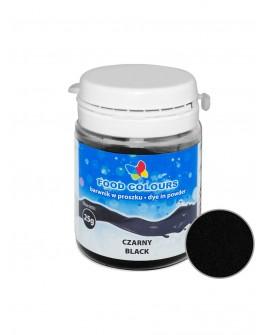 Barwnik w proszku CZARNY 25 g