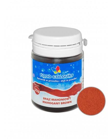 Barwnik w proszku BRĄZ MAHONIOWY 25 g Food Colours