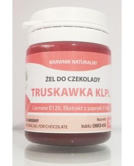 Naturalny barwnik do czekolady w żelu TRUSKAWKOWY