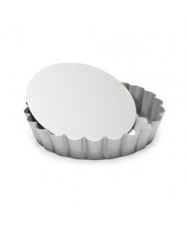 Forma Patisse z wyjmowanym dnem 10 cm Tarta Tartaletki