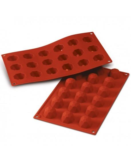 Forma silikonowa Silikomart DIAMENTY czekoladki, praliny