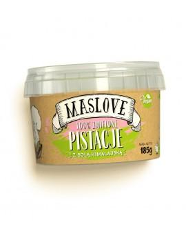 Pasta Maslove PISTACJOWA z solą himalajską 100% 185 g
