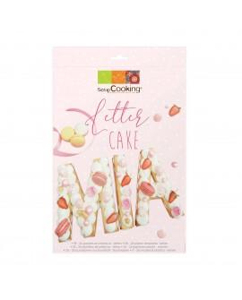 Letter Cake szablony litery 19 cm Alfabet kruchy tort warstwowy