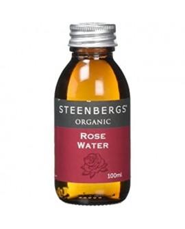 Organiczna woda różana 100ml Steenbergs