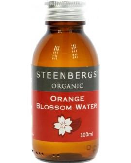 Organiczna woda z kwiatów pomarańczy 100ml Steenbergs