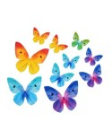 Motyle waflowe MIX 10 szt.