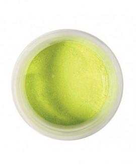 Barwnik pyłkowy 5g PERŁOWY LIMONKOWY Colour Splash do cieniowania, pędzlowania