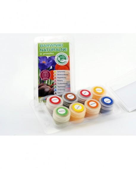 Barwniki naturalne Food Colours ZESTAW 8 szt.