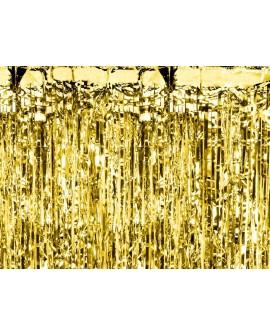 Kurtyna Party ZŁOTO 90 x 250 cm Złota