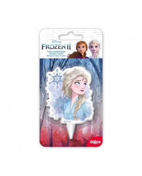 Świeczka KRAINA LODU Frozen Elza