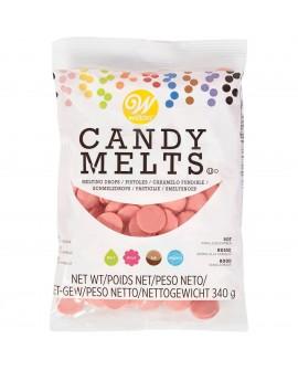 Dropsy czekoladowe Wilton Candy Melts JASNE CZERWONE