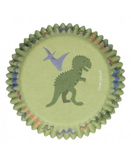 Papilotki FC 48 szt DinozaurY