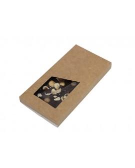 Pudełko kartonik na czekoladę NATURALNE Komplet 5 szt.