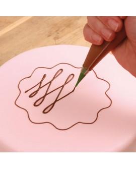 Mini tylki - dysze i worki 10 szt. do zdobienia Fun Cakes