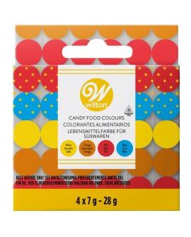 Barwniki do czekolady Wilton 4 KOLORY