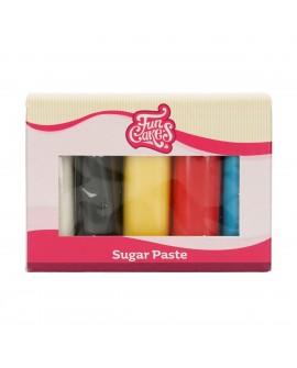 Masa cukrowa Fun Cakes MIKS Primary 5 x 100g