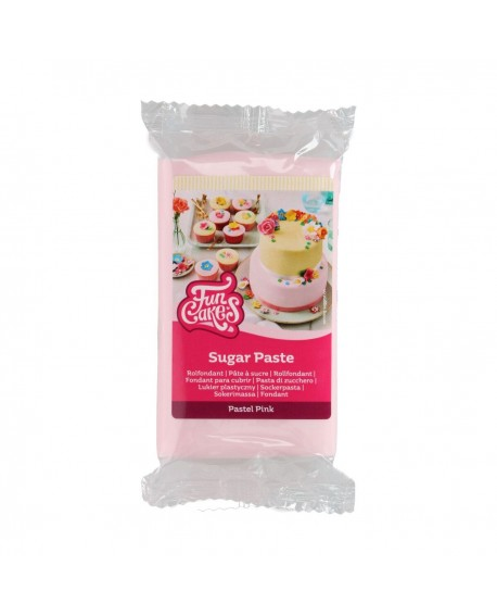 Masa cukrowa Fun Cakes PASTELOWA RÓŻOWA 250 g